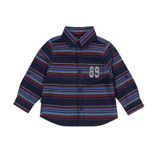 Camisa-BB-Niño-Listada-League-Azul