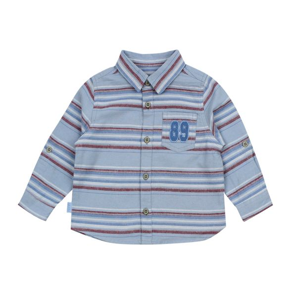 Camisa-BB-Niño-Listada-League-Celeste