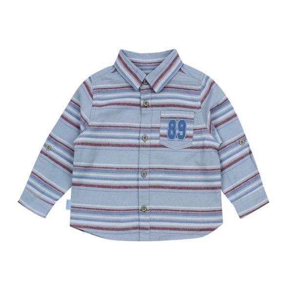 Camisa-BB-Niño-Listada-League-Celeste
