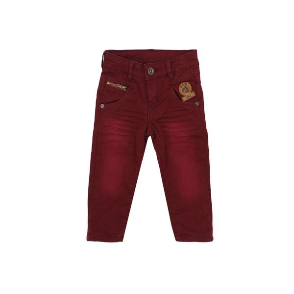 Pantalon-BB-Niño-Outdoor-Burdeo