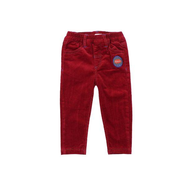 Pantalon-BB-Niño-Cotele-Titan-Rojo