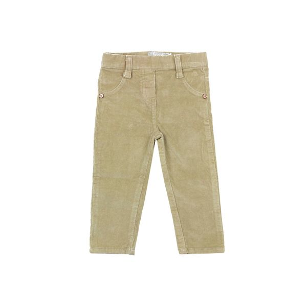 Pantalon-BB-Niña-Cotele-Skinny-Mika-Beige