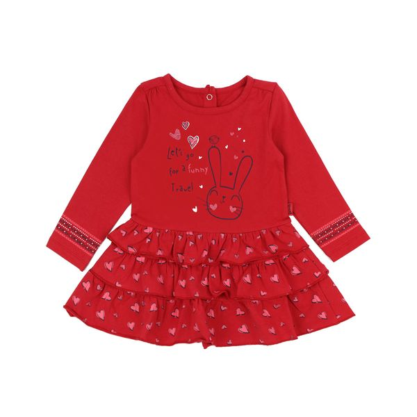Vestido-BB-Niña-Happy-Rojo