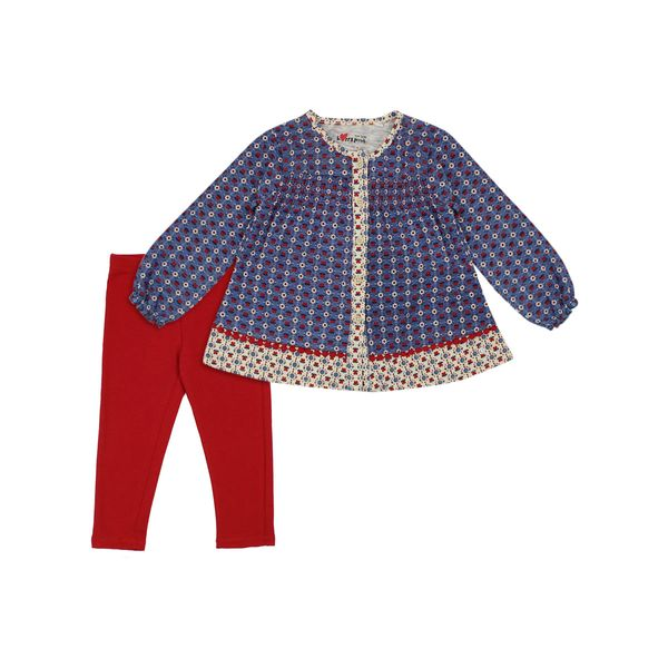 Conjunto-BB-Niña-Happy-Rojo