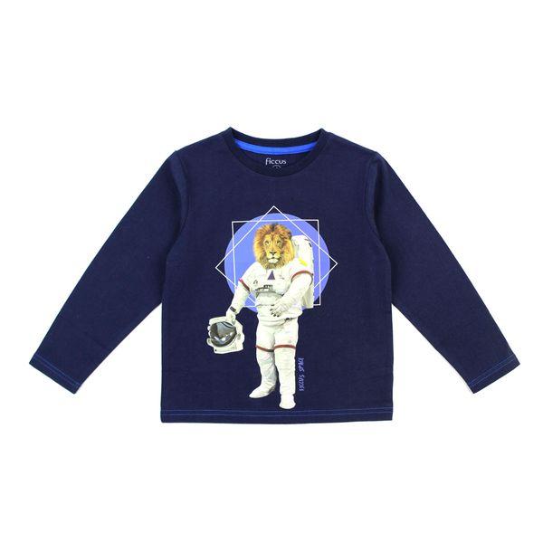 Polera-KIDS-Niño-Costuras-Cosmos-Azul