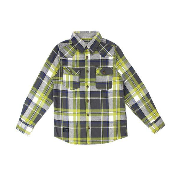 Camisa-KIDS-Niño-Escoces-Urban-Rock-Verde