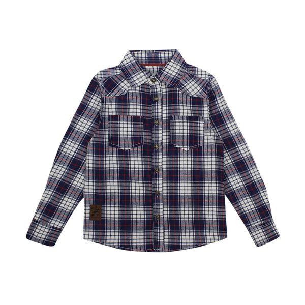Camisa-KIDS-Niño-Escoces-Wild-Azul