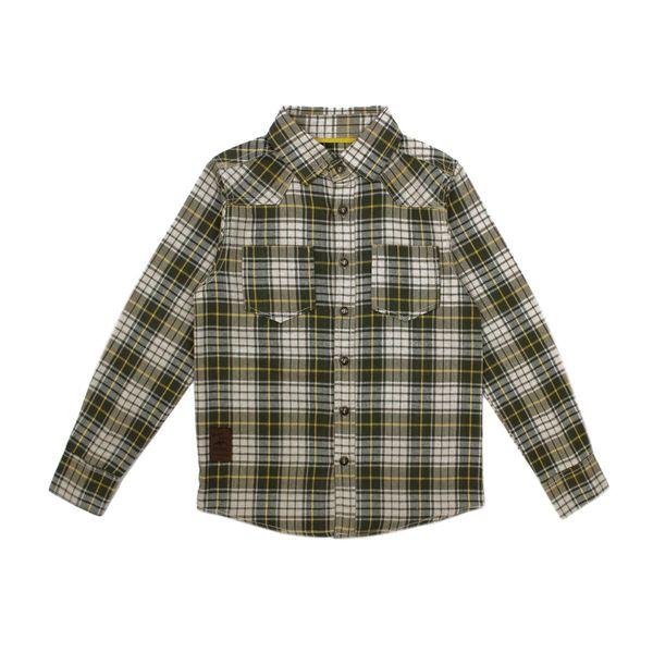 Camisa-KIDS-Niño-Escoces-Wild-Verde