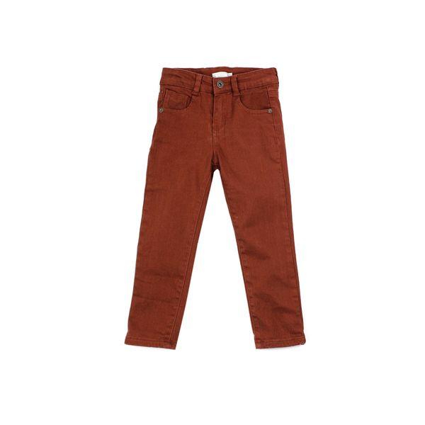 Pantalon-KIDS-Niño-Gabardina-Games-Rojo