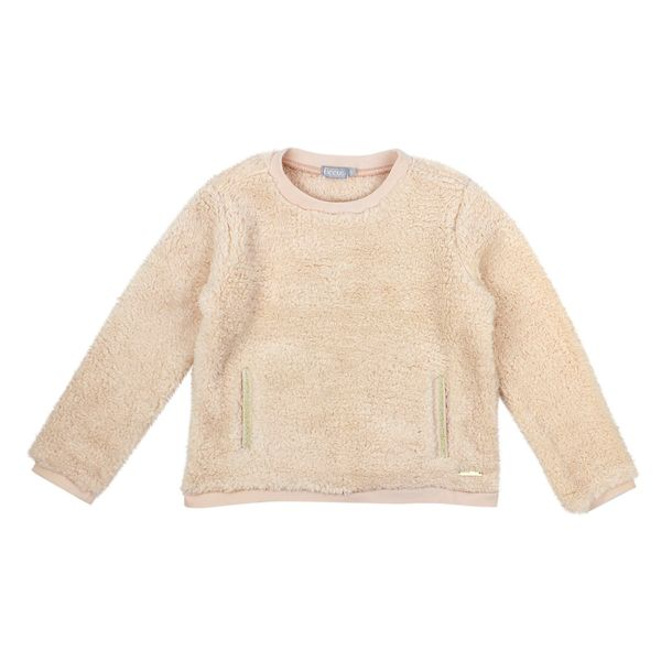 Poleron-KIDS-Niña-Piel-Brillo-Miss-Lulu-Coral