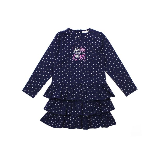 Vestido-KIDS-Niña-Shinystar-Azul