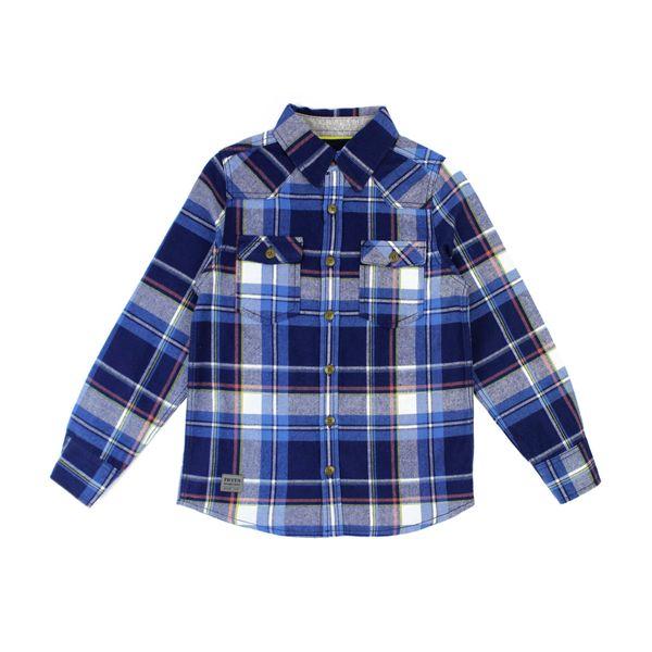 Camisa-JR-Niño-Escocesa-Speedway-Azul