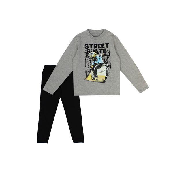 Pijama-JR-Niño-Street-Gris