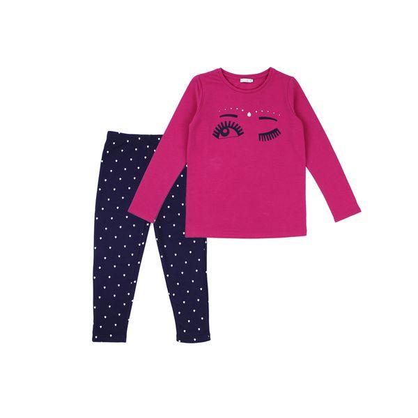 Pijama-JR-Niña-Krishna-Fucsia