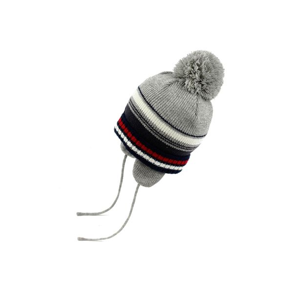Gorro-BB-Niño-League-Gris