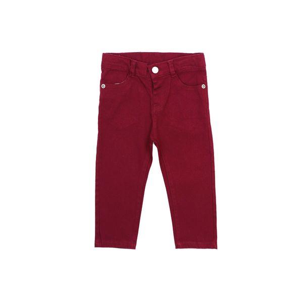 Pantalon-BB-Niño-Gabardina-Day-To-Day-Rojo