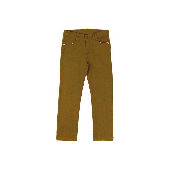Pantalon-KIDS-Niño-Gabardina-Day-To-Day-Amarillo