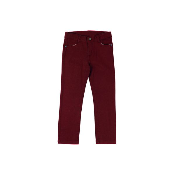 Pantalon-KIDS-Niño-Gabardina-Day-To-Day-Rojo
