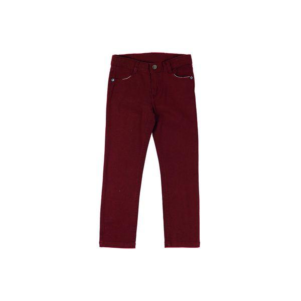 Pantalon-KIDS-Niño-Gabardina-Day-To-Day-Rojo