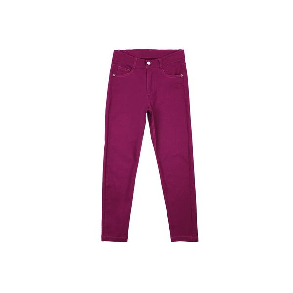 Pantalon-JR-Niña-Gabardina-Day-To-Day-Morado