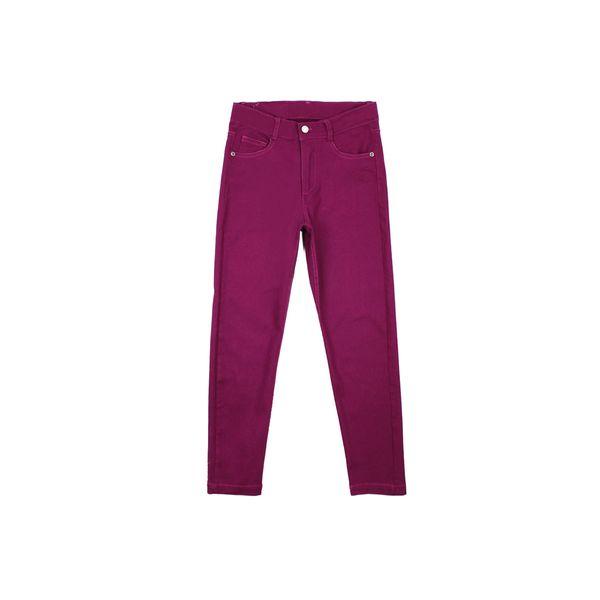 Pantalon-JR-Niña-Gabardina-Day-To-Day-Morado