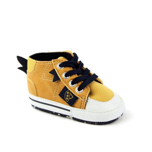 Zapatilla-Cordon-BB-Soft-Niño-Amarillo